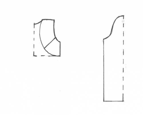 Масштаб данной выкройки болеро: 1 клетка = 2 ... Выкройка болеро.